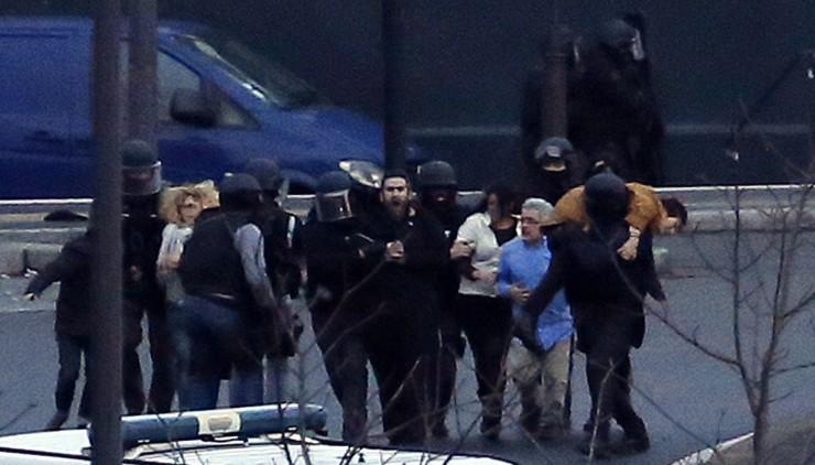 Image: TOPSHOTS-FRANCE-ATTACKS-CHARLIE-HEBDO-SHOOTING